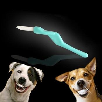 25 unids/set de nanomateriales, palillos de dientes para mascotas, cepillo de dientes para perros, Gato, dientes orales, Limpieza Profunda, cepillo de dientes para perros y Mascotas