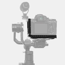 Quick Release Plate L/Bracket Holder Hand Grip Voor Sony A7M3 Slr A7R3 A9 A73 Camera Base Handvat Verticale qr Board Montage