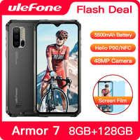 Ulefone Armatura 7 IP68 Impermeabile Robusto Smartphone Android 9.0 NFC Helio P90 5G WIFI 6.3 ''8GB + 128GB 48MP 5500mAh Del Telefono Mobile