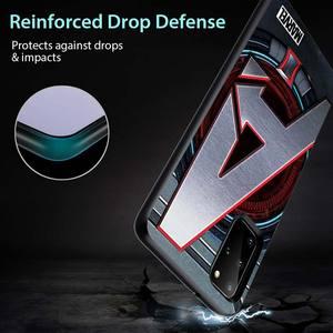Image 5 - Marvel logo for Samsung S20 FE Ultra Plus A91 A81 A71 A51 A41 A31 A21S A72 A52 A42 A02S Soft Black Phone Case