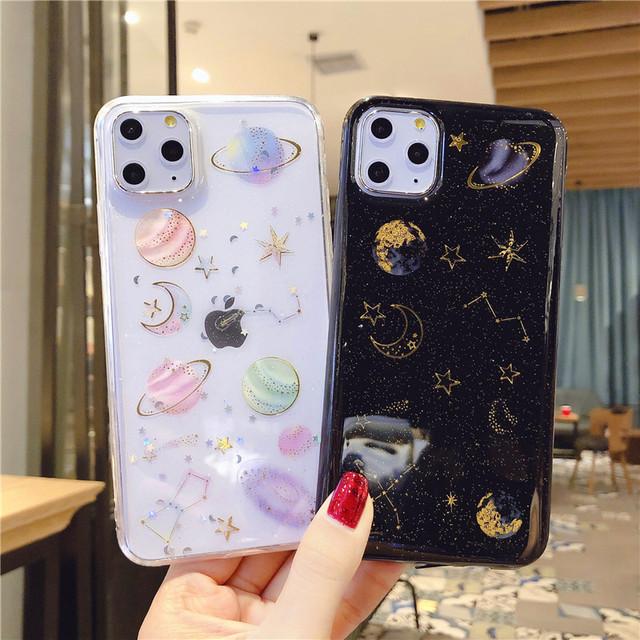 Glitter Universe Patterned Case