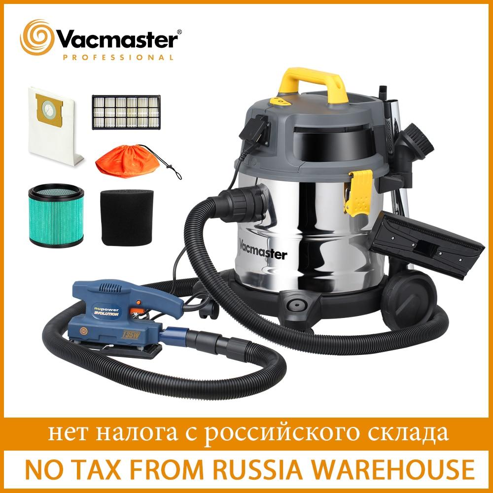 Vacmaster  Industrial Vacuum Cleaner HEPA 13  Powerful Wet Dry Vacuum Cleaner For Workshop Twin Fan Motor Stainless Steel Tank