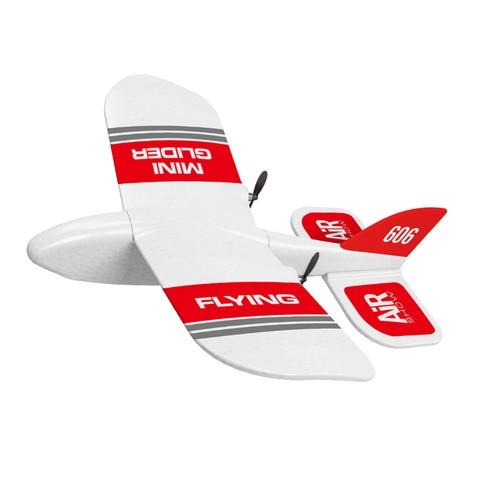 kf606 2 4 ghz rc aviao voando aeronaves epp espuma planador brinquedo aviao 10 minutos