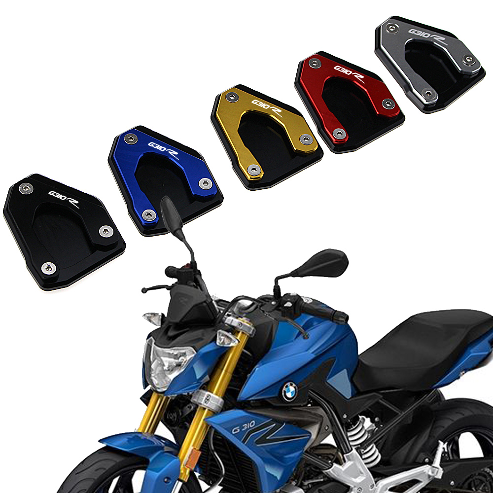 Motorcycle Kickstand Extension Plate Foot Side Stand Enlarge Pad For <font><b>BMW</b></font> G310R <font><b>G</b></font> <font><b>310R</b></font> <font><b>G</b></font> <font><b>310R</b></font> 2017 2018 2019 image