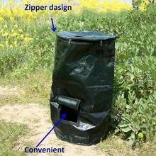 2-Размеры Кухня шланг для полива огорода, двора, мешок для компоста новые органических отходов сумка кухонные отходы утилизации органических мешок для компоста Экологичная сумка для хранения
