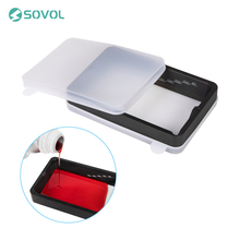 Sovol Resin Vat Set Anodized Aluminium with FEP Film and Covers Durable 3D Printer Modular for Anycubic Photon and Elegoo MARS