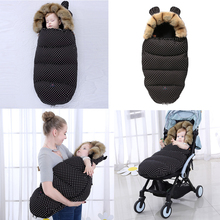 Спальный мешок для детской коляски; зимние теплые спальные мешки; халат для новорожденных; конверты для новорожденных