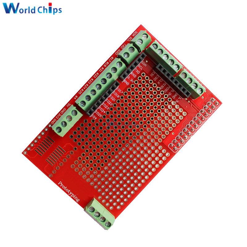 Prototype Prototyping Expansion Shield Board Module For Raspberry Pi 2 board B and Raspberry Pi 3 board B Plate