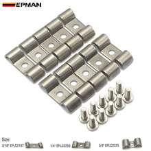 EPMAN SS двойной топливной линии или транс зажим пакет из 10 модифицированных подходит для топлива, воздуха, электрических, тормоза, линии EPLC2375