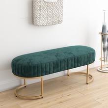 Современная бархатная кровать, пуф для прихожей, табурет, диван, мебель для дома, гостиной, комод, диван, стул, пуф, табурет для ног