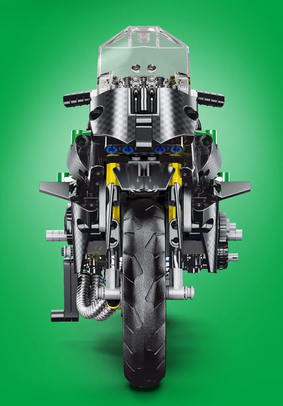 """конструктор huiqibao """"спортивный мотоцикл"""""""