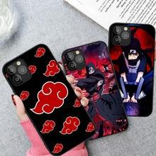 Hot Anime Itachi Kakashi Sasuke Phone Case For Coque iPhone 12 11 Pro max 8 7 6 6S Plus XR X XS Max SE 2020 Cover Funda Etui
