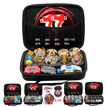 Top Takara Tomy Beyblade Burst Set Beyblades Arena Bayblade Metall Gyroskop Grip Launcher Bey Klinge klinge Box Spielzeug Kid Junge gold