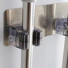 Новая многофункциональная самоклеящаяся швабра, бесшовные Стикеры, кухонная щетка, метла, стойка для ванной комнаты, настенные крючки