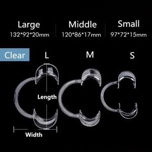 10 шт./лот стоматологический нож для рта C Форма рот кляп стоматологический ортодонтический инструмент интраоральные щеки губы втягиватель рта открывалка для губ