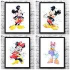 Mickey Mouse wall ar...