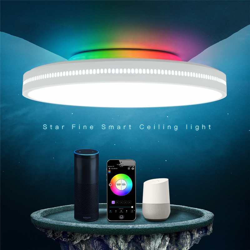 Offdarks AC200-240V 36W 400mm Ceiling Ampoule Bedroom Kitchen LED Ceiling Light