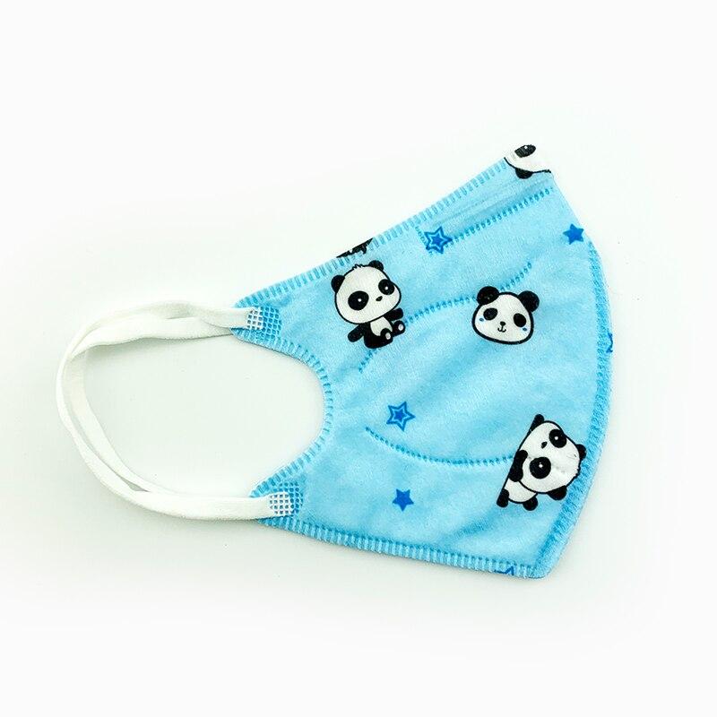 10PCS Baby Protective Gauze Mask Cotton Gauze Mask Breathable Comfortable for Kids Children Layers Gauze Masks Anti-fog PM2.5 3