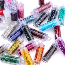 750pcs/bottle 2mm Glass Thin tube beads Glass Seed Beads Charm Czech beads DIY Bracelet Necklace For Jewelry Making Accessories 1020pcs lot 2mm czech cylindrical glass tube bugle beads diy bracelet necklace loose beads for jewelry making accessories