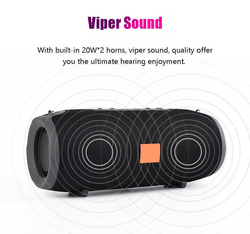 TG118 Mini Speaker Portabel Bluetooth Nirkabel Stereo Speakerphone Musik Radio Subwoofer Speaker untuk Komputer dengan TF FM
