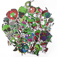 38pcs/lot Intruder Creative Sticker for Paper Album Notebook Adhesive Tape Car Luggage Diy Decoration Graffiti Stickers AT2883