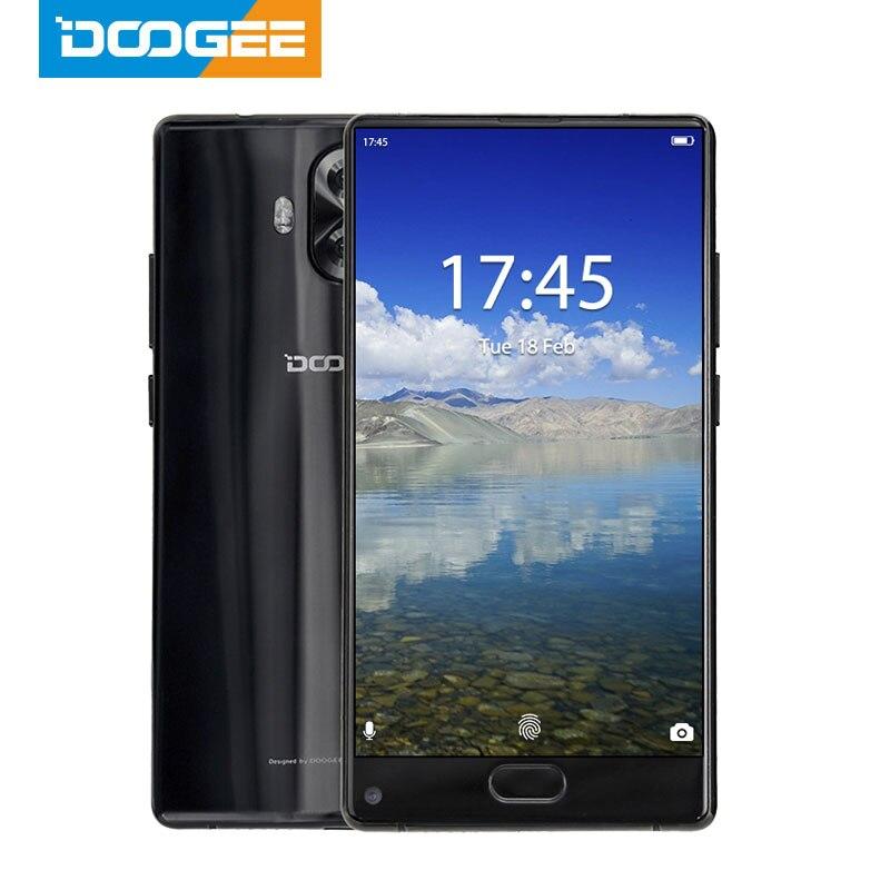 MTK6737 Quad Core Original DOOGEE MIX Lite Smartphone Dual Camera 5.2'' 2GB+16GB Android 7.0 3080mAh Fingerprint Mobile Phones