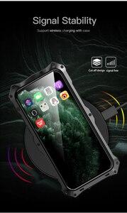 Image 5 - 360 tam koruyucu iphone için kılıf X XS MAX XR darbeye dayanıklı yumuşak silikon Metal alüminyum arka kapak telefon iphone için kılıf 11 Pro