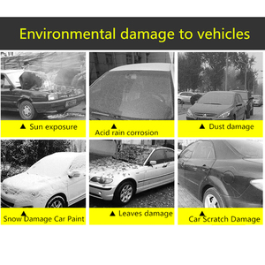 Image 3 - JIUWAN Universal SUV Car Covers Sun Dust UV Protection Outdoor Auto Full covers Umbrella Silver Reflective Stripe For SUV Sedan