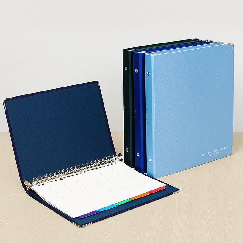 KOKUYO Artist Cloth Loose-leaf Book A520 Hole B526 Hole Creative Metal Ring Binder Loose-leaf Notebook Steel Ring Metal Clamp