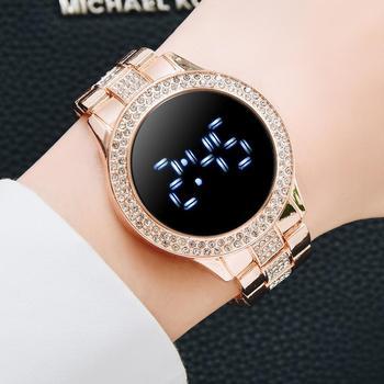 שעון יד תצוגת לד לנשים 1