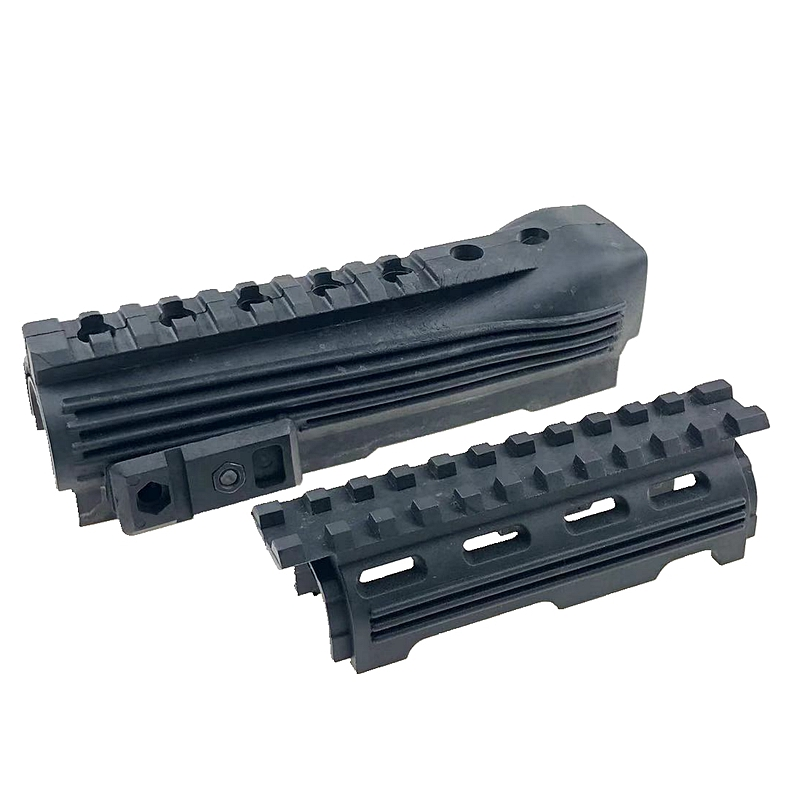 New Airsoft Railed Tactical Handguard AK 47 AK74 Polymer AK Series lower Rails inserts Gear Hunting Rifle Gun Accessories(China)