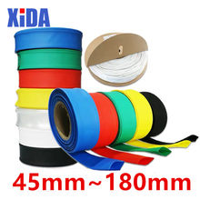 1meter 2:1 Black 45mm 50mm 60mm 70mm 80mm 90mm 100mm 120mm 150mm 180mm Heat Shrink Heatshrink Tubing Tube Wire Sleeving Wrap kit