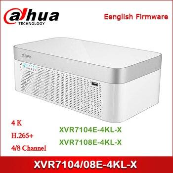 Dahua XVR XVR7104E-4KL-X XVR7108E-4KL 4/8 canaux penta-brid 4K élégant 1U enregistreur vidéo numérique IoT & POS fonctionnalitie