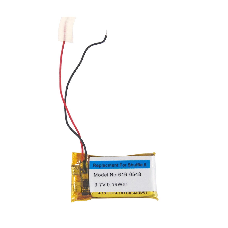 Replacement Internal Li-polymer Battery for iPod Shuffle 4 Generation(China)