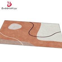 Bolha beijo estilo nórdico tapete simples geometria tapetes casa moderna sala de estar mesa de café quarto decoração não-deslizamento área tapete