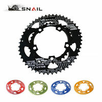 SNAIL 110BCD Chainring Road Bike 50T/35T Double Bicycle Chain Ring Oval Aluminum Cycling Chainwheel Disc Fit SHIMANO SRAM FSA
