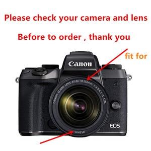 Image 3 - عدسة Canon EOS M50 18 150 مللي متر ، واقي شاشة ، علبة كاميرا ، مرشح الأشعة فوق البنفسجية ، غطاء ، تنظيف القلم ، منفاخ الهواء