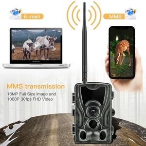Image 3 - Suntekcam HC 801LTE 4グラム狩猟カメラ64ギガバイトトレイルカメラ16MP 1080 1080p smtp sms赤外線カメラir野生カメラ写真トラップ