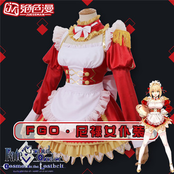 Fate Grand Order Cosplay Game Fgo Nero Maid Dress Cosplay Costume Buy At The Price Of 79 95 In Aliexpress Com Imall Com