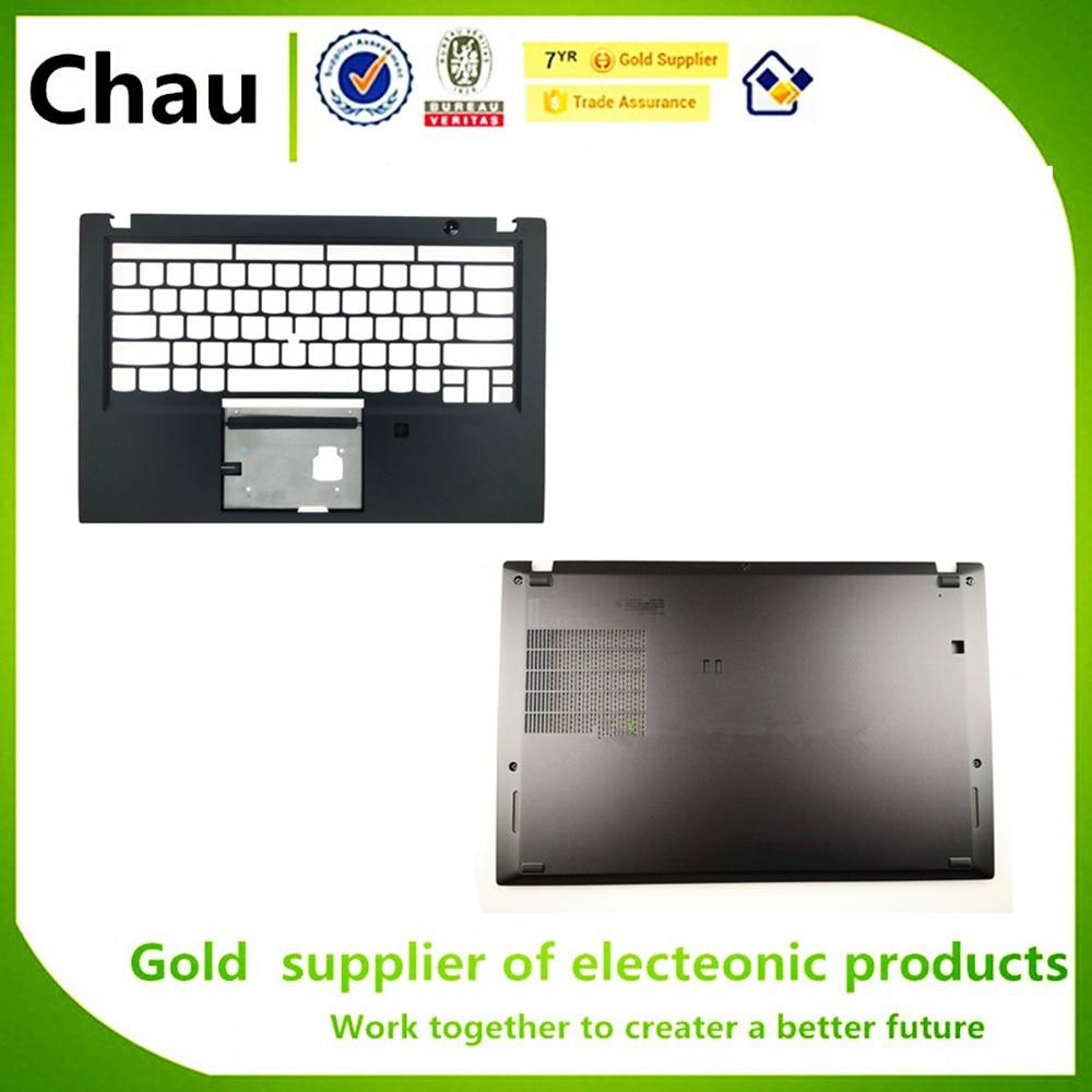 Novo para lenovo thinkpad t490s caso superior teclado palmrest bezel caso superior chassis gabinete habitação fpr am1br000400