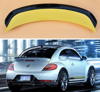 High Quality ABS PAINT REAR WING TRUNK LIP SPOILER FOR Volkswagen VW Beetle GSR/G20 2013 2014 2015 2016 2017 2018 BY EMS