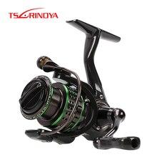 TSURINOYA Fishing Reel Kingfisher 800 1000 10+1BB Carbon Fiber Body 162g Ultra-light Spinning Lure Reel Replaceable Spool цена