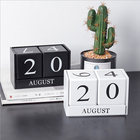 Wood Calendar DIY Ag...