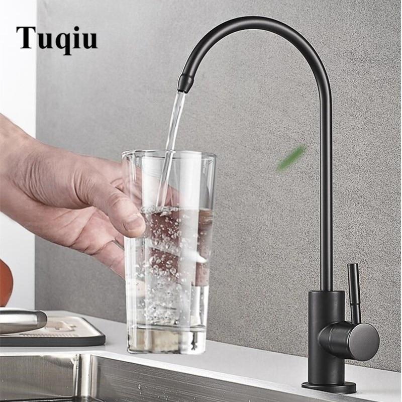 Cuisine Direct eau potable filtre robinet 304 inox RO robinet purifier système osmose inverse robinet cuisine torneira