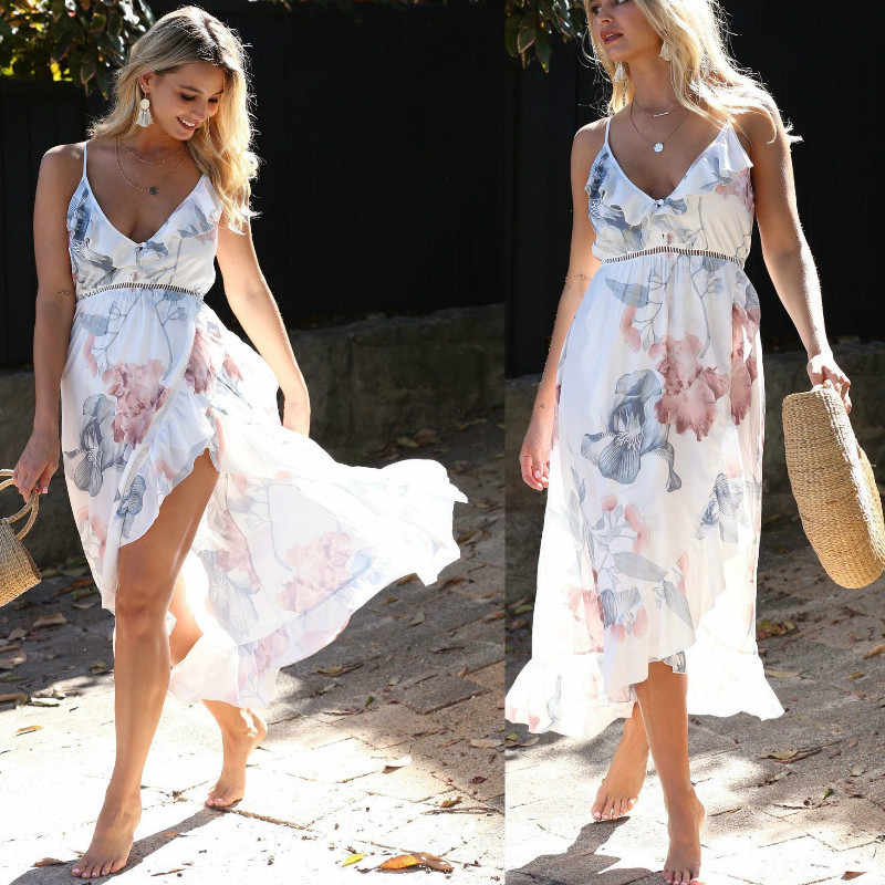 Hamile elbiseleri gebelik elbise hamile kıyafetleri hamile elbise Casual çiçek Falbala rahat Sundress yaz kadın elbise