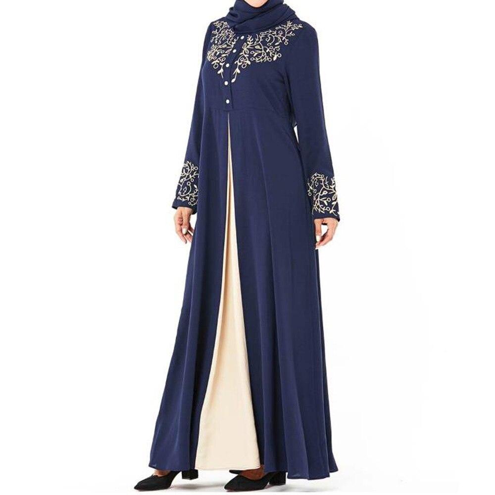 Ramadan Abayas pour les femmes Robe musulmane Caftan Marocain Cardigan Abaya Caftan dubaï Qatar émirats arabes unis Oman Robe Femme vêtements islamiques