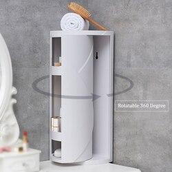 Bad Ecke Regal Rack Rotierenden 360 Grad Ecke Lagerung Halter Küche Organizer Rack-Space Saver Bad Shampoo Halter