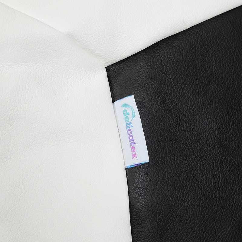 Мешок кресло с НАПОЛНИТЕЛЕМ Кито - пуф Delicatex бело-черный кресло для дома для детской