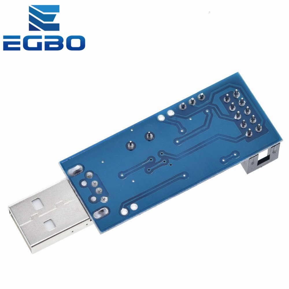 Программатор EGBO USBASP USBISP AVR, USB ISP USB ASP ATMEGA8 ATMEGA128 с поддержкой Win7 64, 1 шт.