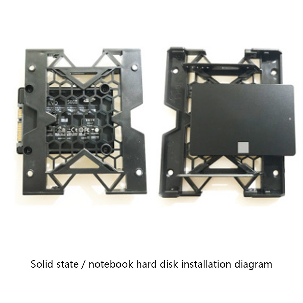 5.25 Optical Drive Position to <font><b>3.5</b></font> inch 2.5 inch <font><b>SSD</b></font> <font><b>Adapter</b></font> Bracket Dock Hard Drive Holder PC Enclosure hot image